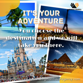 Book Your Travel on WingmanTravels.com