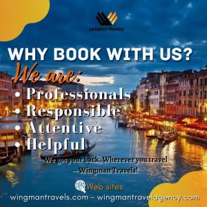 Why book with WingmanTravels.com